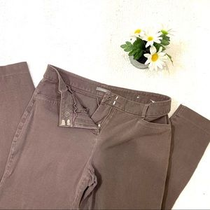 Stretchy Purple/Grey Maurices Spandex Pant